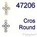Swarovski® - 47206 Cross Round