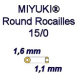 Round Rocaille 15/0